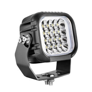 5inch 80w Cree Off Road Led Driving Spot Lights Round Square Headlight Truck 4wd