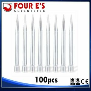 100 Pcs 5000ul 5ml Pipettes Tips Dropper Transfer Inner Pipettes Tips One off