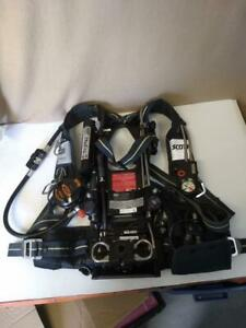 Scott Air paknxg2 4 5 Scba With Hud No Tank bottle Dated 10 07 06 Euc N