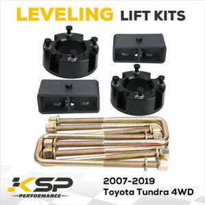 Complete Lift Leveling Kit Fits 3 Front 2 Rear 2007 2020 Toyota Tundra 4wd