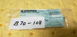Synthes 323 023 Surgical Orthopedic 1 6mm Wire Sleeve