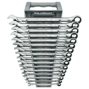 Gearwrench 85099 16 Piece Metric Gearwrench Xl Set 8mm 22mm 24mm 12 Point
