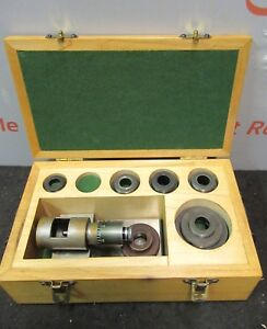Boring Brown Sharp Bar Micrometer Fixture Set Bore Gauge L51 180