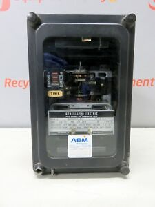 General Electric 12icr54a1a 60 Cycles 120v 3p Phase Sequence Under Voltage Relay