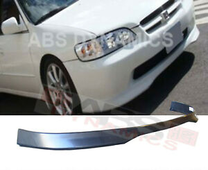 Type R Style Front Lip For 1998 2002 Honda Accord Sedan Unpainted Polypropylene