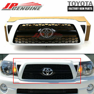 Genuine Toyota 10 12 Tacoma Oem New Front Sport Grille 040 White 53100 04450 a0