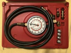 Mac Tools Transmission Oil Pressure Tester Tpt450m Used In Plastic Case fs