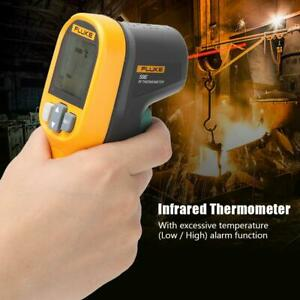 Fluke 59e Digital Ir Infrared Temp Thermometer With Low high Temperature Alarm