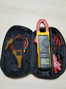 Fluke 381 Remote Display True rms Ac dc Clamp Multimeter With Iflex Probe Kit