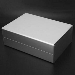 Black Aluminum Project Box Enclosure Case Electronic Diy 220x160x80mm