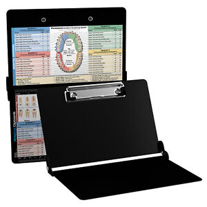 Whitecoat Clipboard Dental Edition Foldable Clipboard For Dentistry