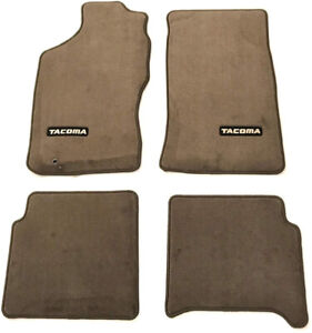 Genuine Oem Oak Beige Carpet Floor Mats For Toyota Tacoma Xtra Cab 95 04