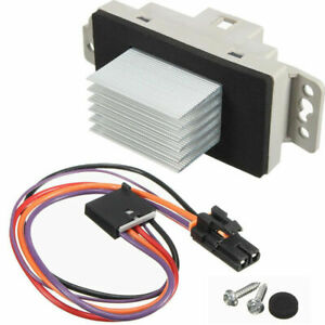 A C Blower Motor Resistor For Avalanche Silverado Ssr Suburban Tahoe Trailblazer