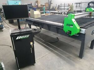 Boss Tables Cnc Plasma Table Whc 5x10 Water Height Control Turn Key Complete