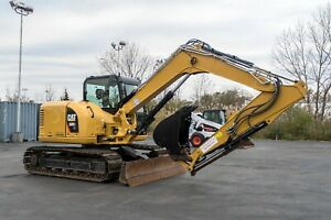 2017 Cat 308e2 Hydraulic Excavator Only 1100 Hours