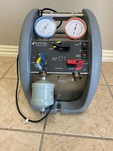 Inficon Vortex Automotive Ac Refrigerant Recovery Machine Used