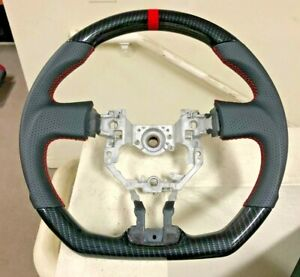 Toyota Fr S Frs Subaru Brz 13 17 Performance Leather Carbon Steering Wheel Gt86