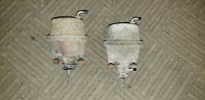 1969 Dodge Charger Grille 68 Grill Front Headlight Door Vacuum Pod Pods Set Two