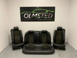 04 07 Cadillac Ctsv Leather Suede Ebony Heated Power Full Set 59k Miles