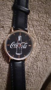 Coca cola watch  unique design. Brand new.Perfect for collecters too.