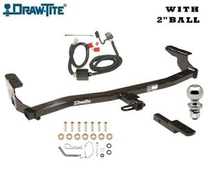 Trailer Hitch Tow Package W 2 Ball 1998 2008 Subaru Forester 1 1 4 Receiver