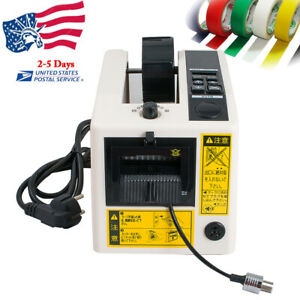 Electric Automatic Tape Dispensers Adhesive Tape Cutter Cutting Machine Tool Set