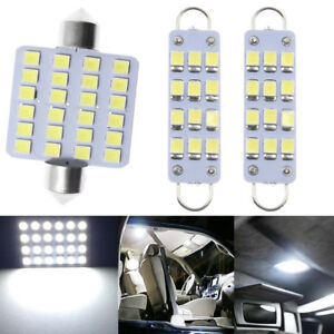 3x Led Interior Map Dome Light Lamps Fit 88 98 Chevy Silverado Gmc Sierra Stock