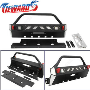 Fit For 2016 2019 Toyota 4runner Front Winch Bumper Guard Set New