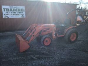 2012 Kubota B2620 4x4 Hydro Compact Tractor W Loader Only 300 Hours