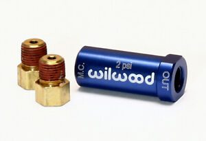 Wilwood 260 13783 2 Lb Residual Check Valve