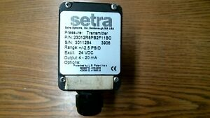 1764 Setra 2301010pd2f11bc 0 10 Psid Low Differential Pressure Transmitter