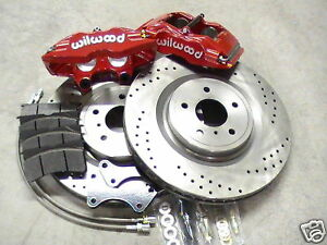 Big Brake Kit Fits Toyota Supra Mk Iv 93 98 14 Wilwood 4 Piston Calipers