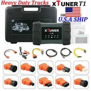 Us Ship Xtuner T1 Auto Intelligent Heavy Duty Truck Diagnostic Tool Wifi Version