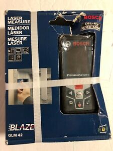 New Bosch Glm 42 blaze 135 Laser Distance Measurer New factory Sealed