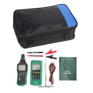 Ms6818 Dc ac Voltage Meter Wire Cable Locator Metal Pipe Detector Tester Tracker