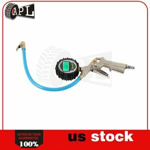High accuracy Digital Tire Inflator With Pressure Gauge 200 Psi Heavy Duty