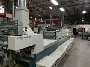 Komori Lithrone 628 Sn 120 1994 price Reduction Must Make Room For New Equip