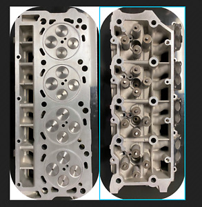 2 New Ford Aluminum 6 0 Ohv Performance Turbo Diesel F350 Cylinder Heads 18mm