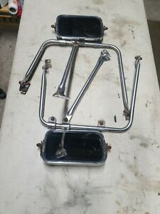 1967 1972 Genuine Ford Truck Towing Mirrors Stainless F150 F250 F350 W Hardware