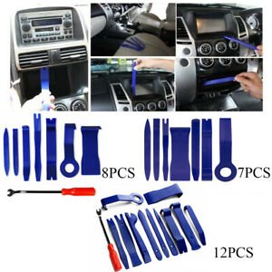 7 8 12pcs Panel Removal Open Pry Tools Kit Car Dash Door Radio Trim Universal
