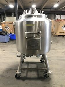 Langfields 100 Liter Clearage Vessel 316 Stainless Steel Portable Tank Can Ship