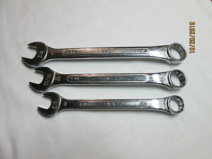 Sk Tools Sae 12pt Combination Wrenches C 24 3 4 C 22 11 16 C 20 5 8 Usa 3pcs