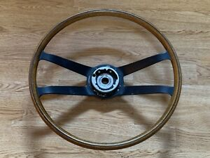 Porsche 911 Vintage Wood Vdm 901 911s 912 914 Steering Wheel
