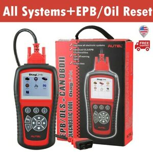 Autel Scanner Diaglink Md802 All System Obd2 Auto Code Reader Epb Ols Reset Tool