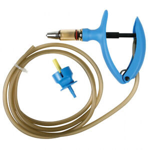 Allflex 2ml Hose Draw Off Automatic Self Filling Syringe Cattle Swine Hogs Sheep