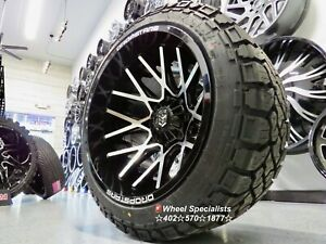 22x14 Tis Dropstar Offroad Wheels 33 At Mt Tires Package Fit Jeep Wrangler Set