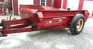 Ih 540 Manure Spreader free 1000 Mile Delivery From Kentucky