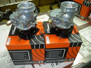2 Brand New 1932 Ford Coupe Roadster Flathead Stromberg 81 Carb Carburetors