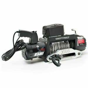 Xrc 9 5 Gen2 Smittybilt 9 500 Lb Winch 98495 Synthetic Rope For Jeep Truck Suv
