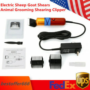 Electric Sheep Goat Shears Animal Grooming Shearing Clipper Farm Supply 200w Us